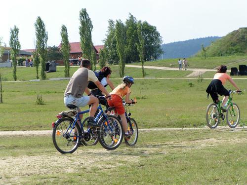 Entdecken Sie die FREIZEIT-OASE Olbersdorfer See auch mit dem Fahrrad